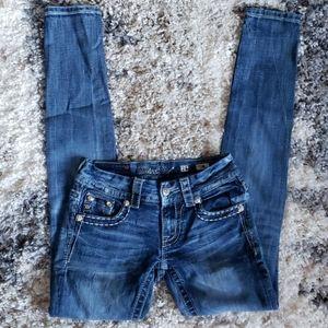 Miss Me Jean's.  Size 25.